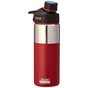 CamelBak Chute Vacuum Insulated Stainless Water Bottle, 20 oz, Brick