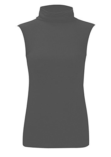 Noir Sans T Charbon 21fashion Unique Uni Femme Taille shirt Manche wYqUq6g