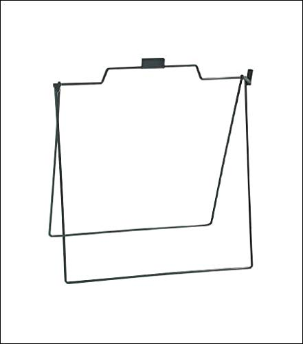 A Frame Metal Stand for Open House Sign for Realtor 18x24 Foldable, 5 Pack Black -