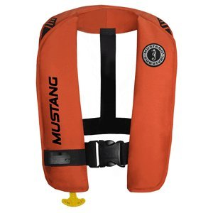 (The Amazing Quality Mustang MIT 100 Inflatable Automatic PFD w/Reflective Tape - Orange)