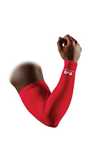 McDavid Compression Arm Sleeve, Scarlet, Large