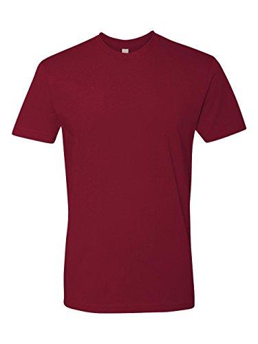 ium Fitted Short-Sleeve Crew T-Shirt - Small - Cardinal ()