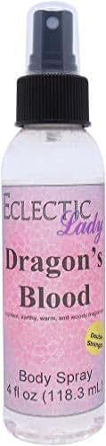 Dragon's Blood Body Spray (Double Strength), 4 ounces