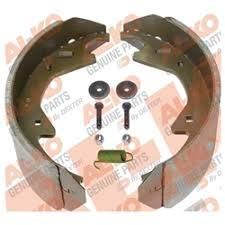 K71-818-00 Genuine AL-KO Brake Shoe & Lining KIT for 12.25''X3.5'' 10-12K Electric Brakes- 1 Wheel by AL-KO BY DEXTER