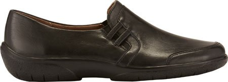 Burnis Frauen Ace Cradles Black Loafers Leder Walking U1P8p4fqcW