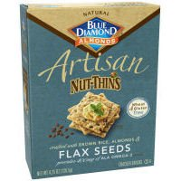 Artisan Nut Thins Flax Seeds Cracker 4.25 Ounces (Case of 12) by Blue Diamond Almonds (Image #1)