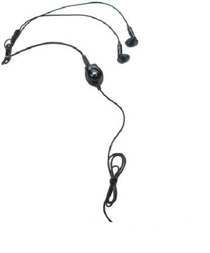 - LG SGEY0003609 Stereo Earbud Headset with Answer/End Button - Non-Retail Packaging - Black