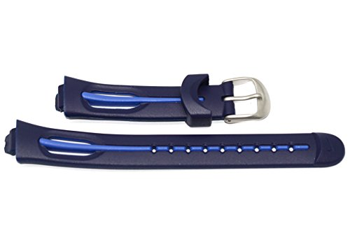 NIKE Triax 250 Lap Regular Blue Replacement Rubber Watch Band (Watches Nike Kids)