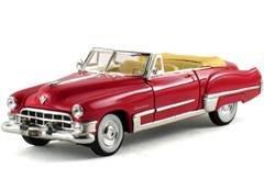 1949 Cadillac Series 62 Convertible Coral Red (1949 Cadillac Series 62)
