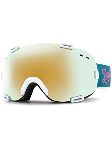 Zeal Optics Unisex Voyager Safari White/Alchemy Mirror + Sky