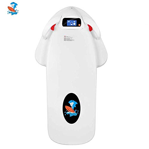 Electric Surfboard Scooter for Adult, Sea Surfing Smart Paddle Water Powered Floating Skateboard for Adult Assist Swimming, Surfing, Lifesaving and Water Sports