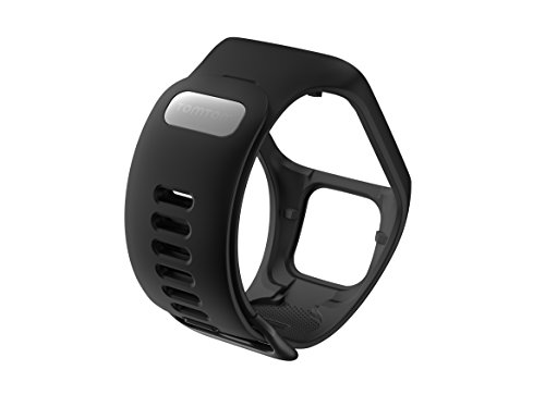 TomTom Spark GPS Fitness Watch Accessory Strap (Black, Large)