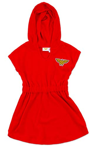 Dreamwave Toddler Girl Wonderwoman Terry Coverup 3t]()