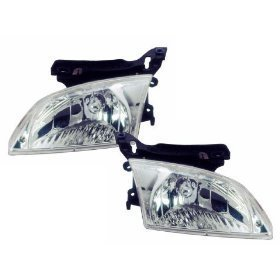 Headlights Depot Replacement For Chevrolet Chevy Cavalier Headlights Headlamps Oe Style Replacement Driver Passenger Pai