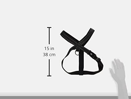 Amazon Com Hurtta Pet Collection 35 Inch Padded Y Harness Black