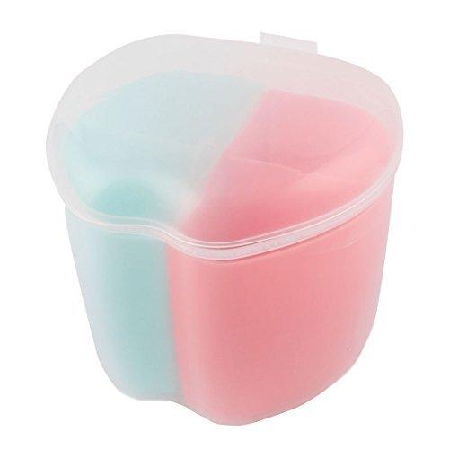 Amazon.com | eDealMax plástico del hogar Utensilios de cocina forma de manzana 4 compartimientos Caja Condimento Especias Contenedor Condimentos: Condiment ...