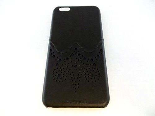 Cole Haan Brogue Dark Brown Black Case for Apple iPhone 6 Plus CHRM71020-DRS