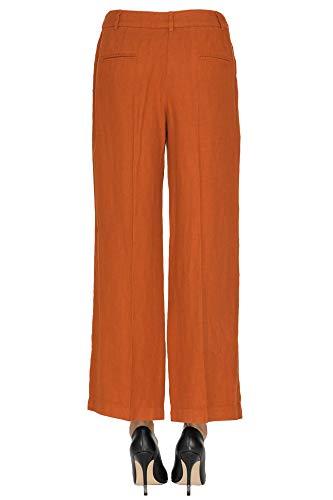 Lino Mcglpns000005043e Seventy Marrón Pantalón Mujer q88Hf