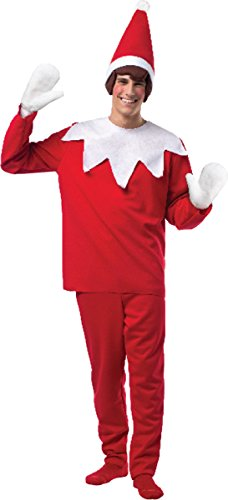 Elf on the Shelf Costume - One Size - Chest Size 48-52
