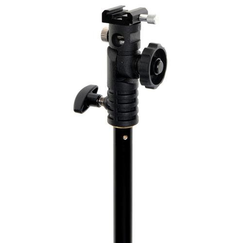 Lastolite LL LA2422 Tilt Head Bracket with Locking Shoe Mount (Black) by Lastolite
