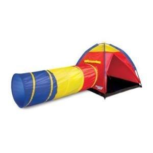 Kid Play Adventure Tent (Discover Kids Indoor/Outdoor Adventure Play tent & Tunnel)