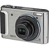 Samsung TL320 12MP Digital Camera with 5x Schneider Wide Angle Dual Image Stabilized Zoom and 3.0 inch OLED Screen (Silver)