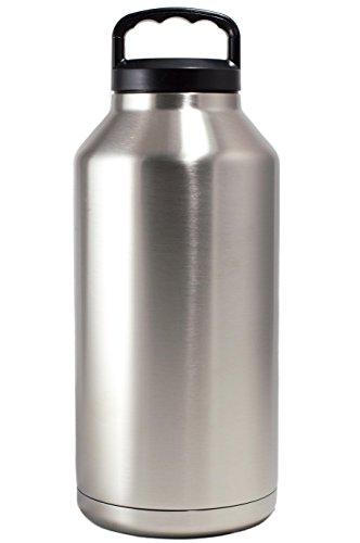 Magnum Steel Tumbler (64 oz, Stainless Steel)