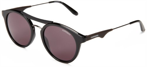 Carrera CA6008S Round Plastic Sunglasses,Black,50 - Ans Sunglasses