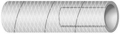 Shields Hose Div Sierra Supply Pvc Tubing 1/2 X 25 FT Wht 1161640125