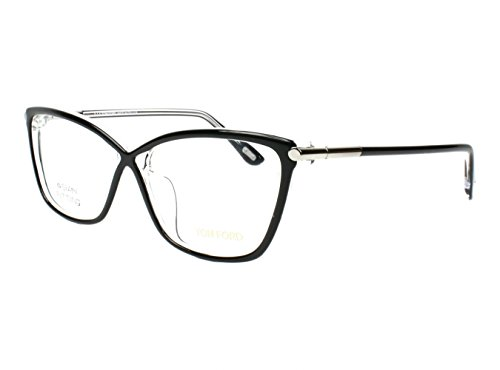 Optical frame Tom Ford Acetate - Plastic Shiny Black - Crystal (TF5375 - Tom Ford Womens Optical