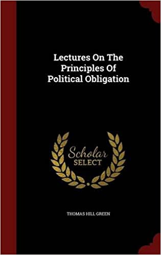 Book Lectures On The Principles Of Political Obligation