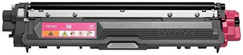 Brother Genuine TN221M Color Laser Magenta Toner Cartridge