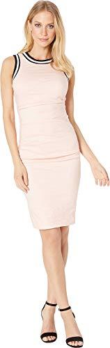 Nicole Miller Women's Sheath Dress Peach Daquari 0