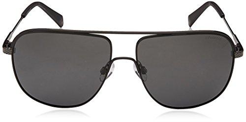 Polaroid 59 M9 Grey para Grey Matt Hombre Negro Sol de S Black Gafas PLD 2055 003 AwraAfq