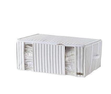 Compactor Blanc Caja de Almacenaje Al Vacío, Talla XXL, 210 l, Gris Anton, RAN7512, Non-Woven 120G, Beige (Life 2.0)