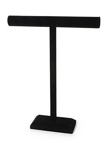 Darice Jewelry Stand, 18-Inch-by-14-Inch, Black Velvet