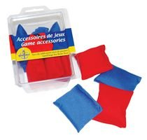 8 Sand bags For Bean Toss Game Accessories 4 Red and 4 Blue Gladius International