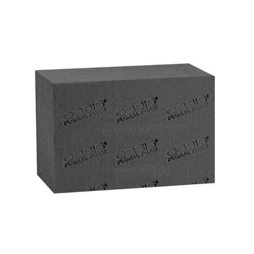 Oasis Midnight Floral Foam, Grande Brick (Sell by CASE- 20/CASE) 9'' x 4-3/4'' x 6'' by OASIS Floral Products (Image #1)