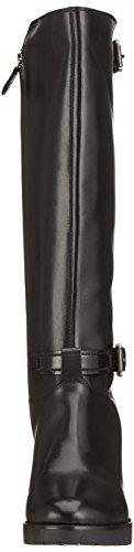 Geox D New Dovelyn D, Botines para Mujer Schwarz (BLACKC9999)