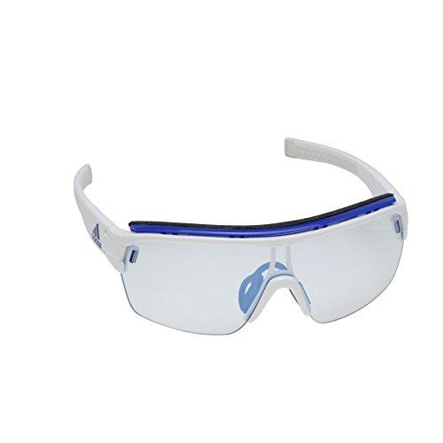 adidas Zonyk Aero Pro S Shield Sunglasses, White Shiny, 68 - Zonyk Aero Adidas