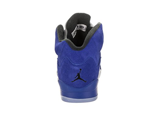 Jordan Nike Barn Luft 5 Retro Bg Spel / Royal / Svart / Spel / Royal Basketsko 5 Barn Oss