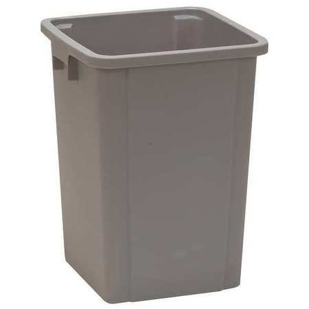 (19 gal. Square Gray Trash Can)