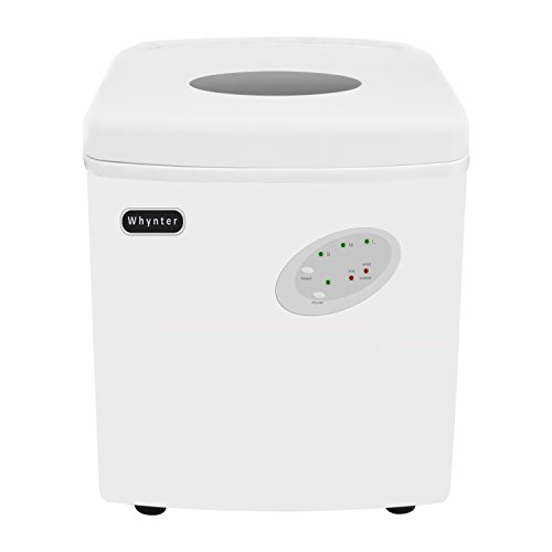 Whynter IMC-330WS Portable 33 lb Capacity-White Ice Makers, One Size, Multi