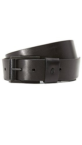 Designer Leather Belt (Nixon Unisex Americana '15 Belt Black XL)