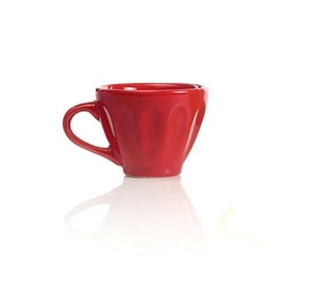 Impulse! 7712-4 Montparnasse Espresso Cups Ceramic, Gray