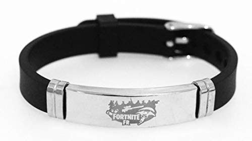 fortnite Bracelet Wristband, Theme Gift Lovers Adjustable Sizes for All, by Arget (Style 10)