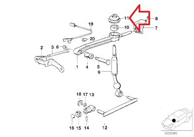 BMW Genuine Shift Lever Boot - Manual Transmission (Insulating Rubber Boot) for 735i 635CSi M6 528e 535i M5 318i 318is 325e 325i M3