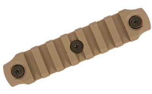 1913 Rail - BRAVO COMPANY BCM Keymod Nylon Picatinny Rail Section, Flat Dark Earth, 4