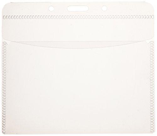 ADVANTUS PVC-Free Badge Holders, Horizontal, 4 x 3