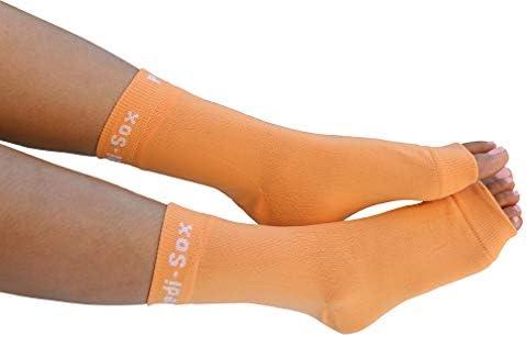 Pair Open Toe Less Socks Pedicure Pedi Sox Spa Salon Yoga Pilates Dance